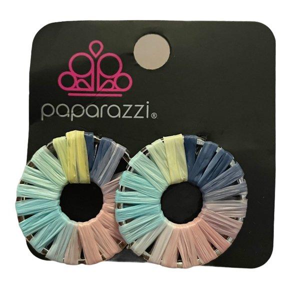 Paparazzi Boho Foxy Flamenco Earrings - Modified